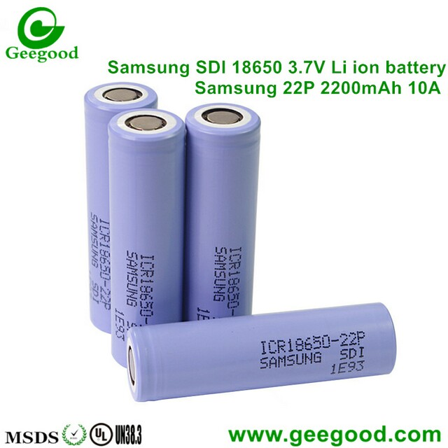 High Amp Battery >> Samsung 22p 22pm 2200mah 10a High Amp 18650 Battery For Scooter E