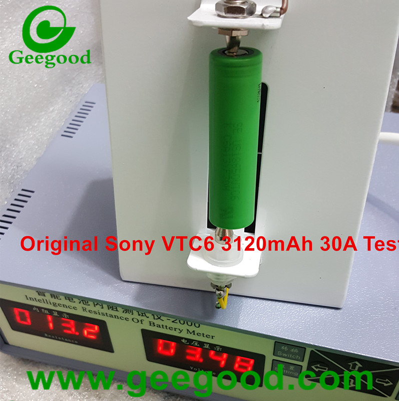 Sony VTC6 18650  US18650VTC6 3120mAh 30A real high power battery