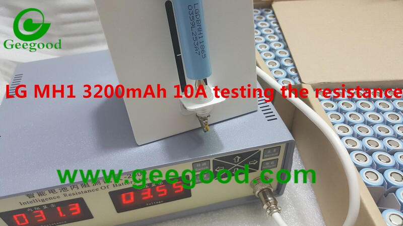 Original Lg Mh1 3200mah 10a Lgdbmh11865 Lggbmh11865 18650